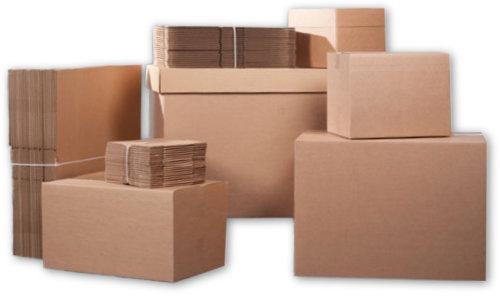 Muuttotarvikkeet kuten pahvilaatikot toimitetaan lähtöosoitteeseen